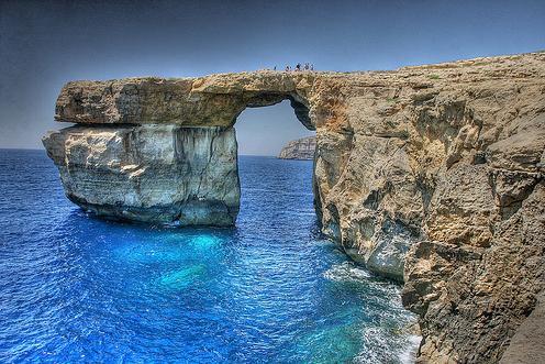 Blue Hole en Gozo, Malta