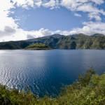 Laguna Cuicocha, paraíso volcánico en Ecuador