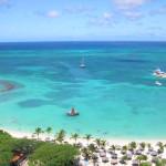 La costa de Aruba, joya del mar Caribe