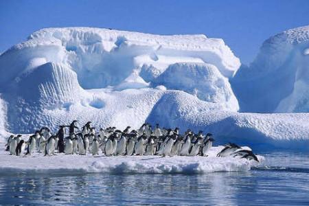 El continente Antártico, el espejo de hielo