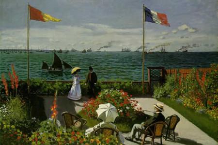 Marinas famosas, La terraza de Sainte-Adresse