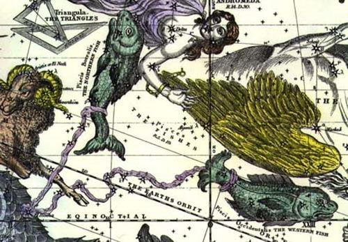 La leyenda de Piscis, el signo del mar