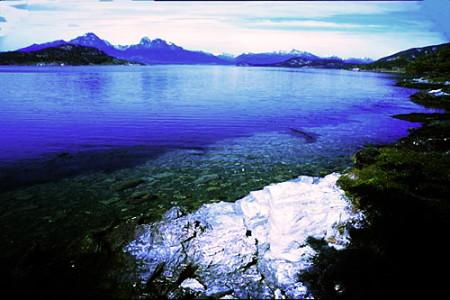 El estrecho de Magallanes y Tierra del Fuego