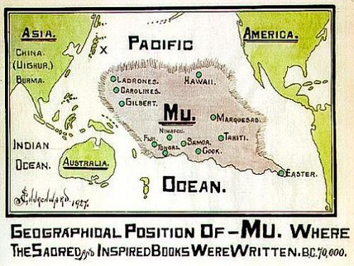 Mu, la Atlántida del Pacífico