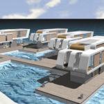 Las casas flotantes, la colonización del mar