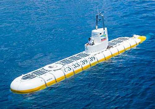 Maldivas, un paseo en submarino