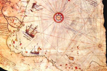 La misteriosa carta náutica de Piri Reis