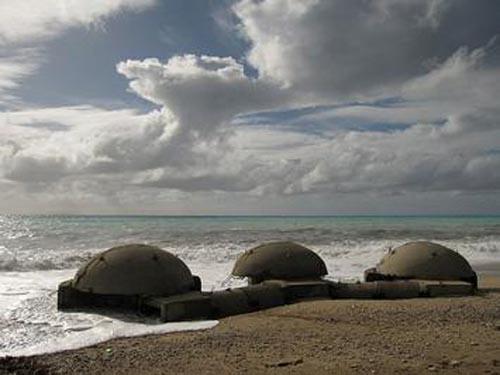 bunkers en albania