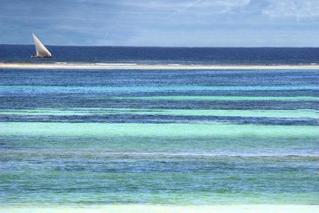 ¿Por qué el mar es azul?