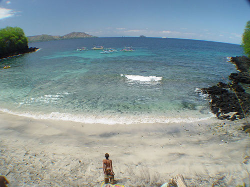 padangbai laguna azul