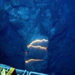 Fumarolas negras en el mar Caribe