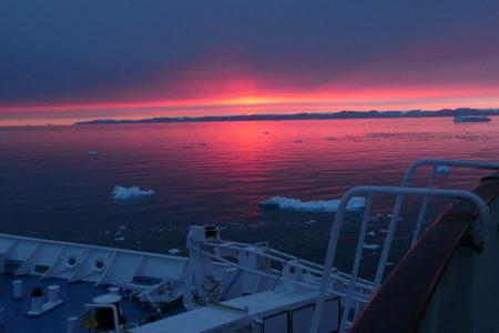 Cruceros por la helada Groenlandia