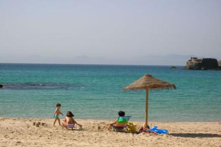 Las playas de Tarifa, en España