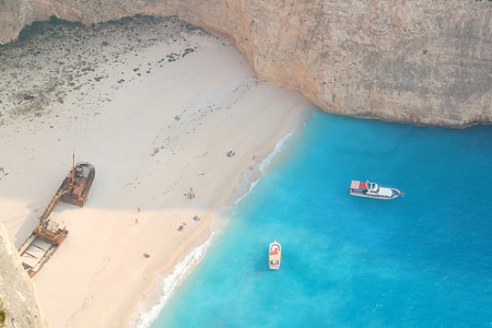 Extraño reclamo turístico en Zakynthos, isla griega