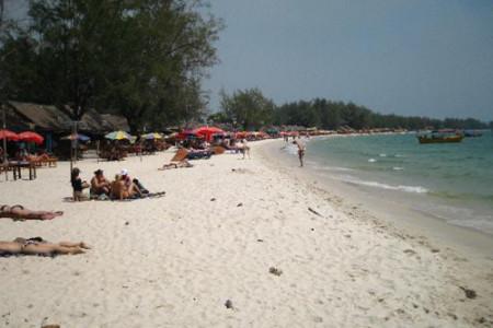 Las hermosas playas de Camboya