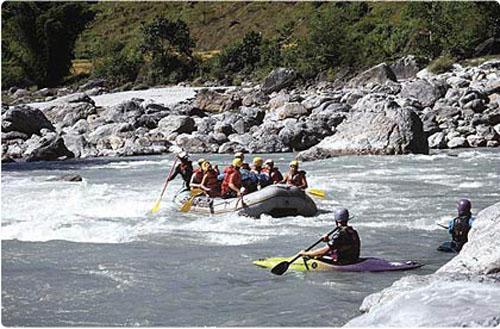 rafting en nepal