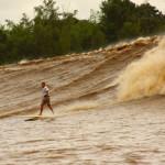 El río Amazonas y la Pororoca
