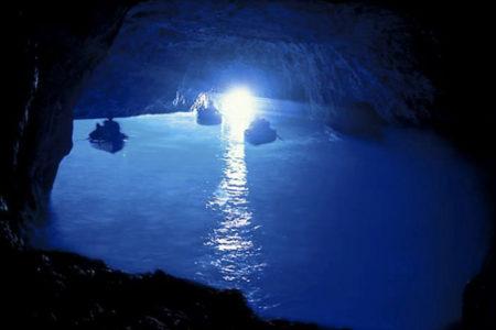 La Gruta Azul, en Capri