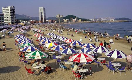 Gwangalli, verano en una playa coreana