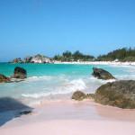 Las playas rosadas de Bermudas