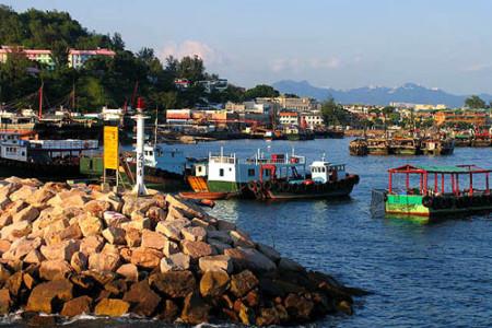 Un paseo por las islas de Hong Kong