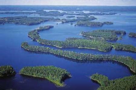 Saimaa, el lago más grande de Finlandia