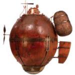 Turtle, el primer submarino de la historia