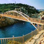 Paseo costero del Parque Ugli, en Corea