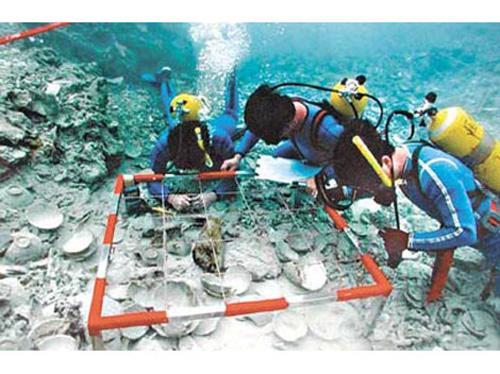 arqueologia submarina en china