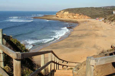 Bell's Beach, la playa surfer de Australia