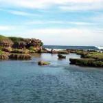 Las piscinas de Inarajan, en la costa de Guam