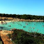 Playa Cleopatra en Sedir, Turquía