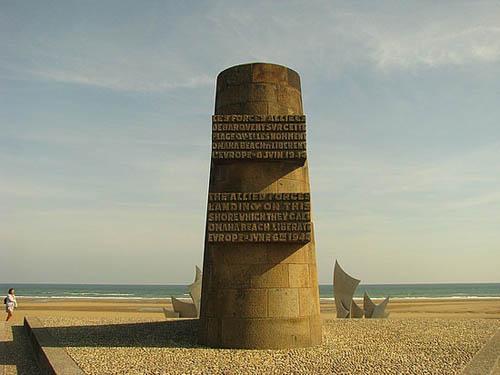 Playa Omaha en Normandia