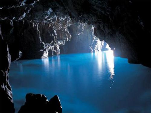 Cueva Azul en Palinuro