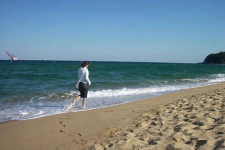 La Playa Sokcho, en Corea del Sur