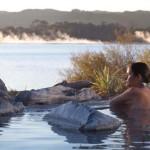 Aguas termales del Lago Rotorua, Nueva Zelanda