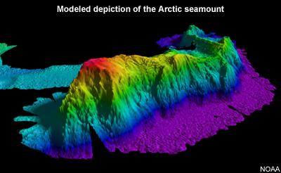 Montañas submarinas