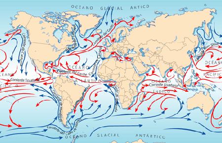 Maravillas de las corrientes oceánicas