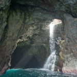 Waiahuakua, una de las cuevas marinas de Hawaii