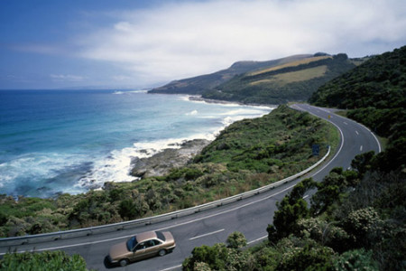La Gran Carretera Oceánica, en Australia
