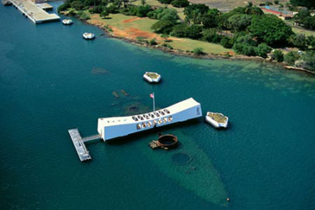 Memorial USS Arizona, maravilla en el mar