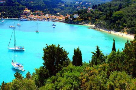 El archipiélago de Paxói, en Grecia