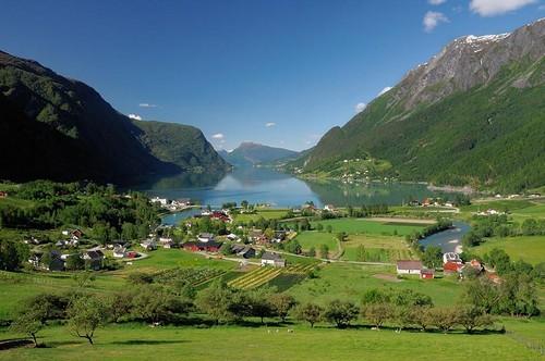 fiordo Sognefjord