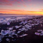 Playa de Jökulsárlón, una belleza helada