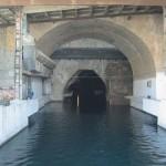 La base de submarinos rusos abandonada