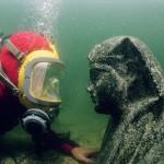 Bucear en las ruinas de la antigua Alejandría