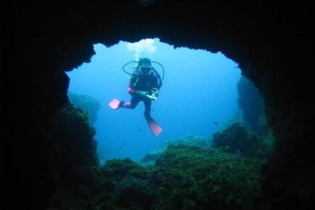 Inmersión en el atolón de El Hierro