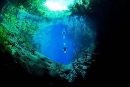 La Laguna Misteriosa de Brasil