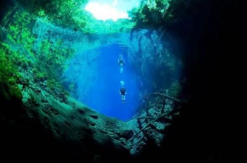 Laguna misteriosa de Brasil