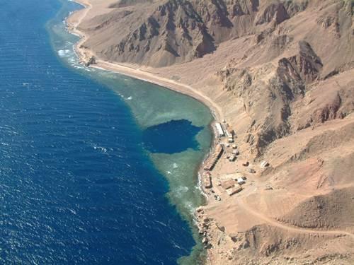 Blue Hole en Dahab